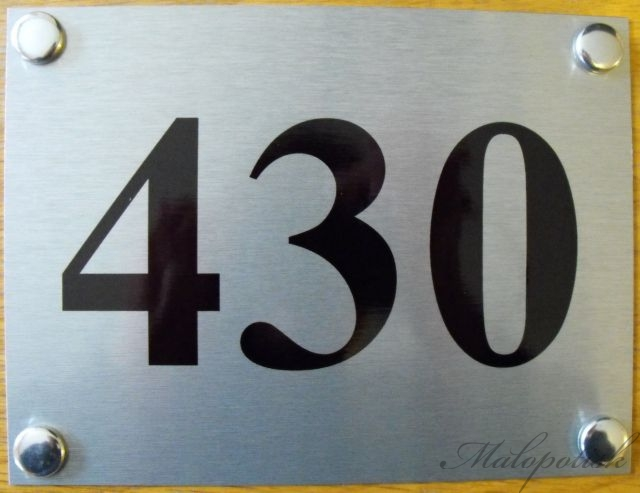 Číslo popisné Vašeho domu či chalupy stříbrná